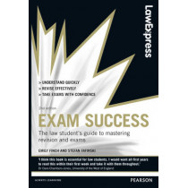 Law Express: Exam Success (Revision Guide) by Emily Finch, 9780273792871
