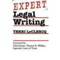 Expert Legal Writing by Teresa Leclercq, 9780292746886