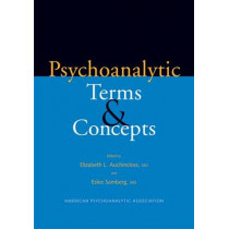 Psychoanalytic Terms and Concepts by Elizabeth L. Auchincloss, 9780300109863