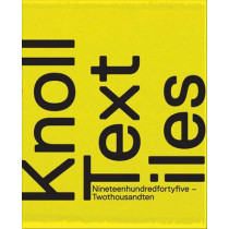 Knoll Textiles, 1945-2010 by Earl Martin, 9780300170696