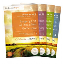 Celebrate Recovery Updated Participant's Guide Set, Volumes 1-4: A Recovery Program Based on Eight Principles from the Beatitudes by John Baker, 9780310083108