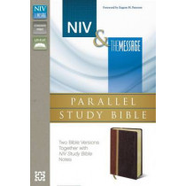 NIV, The Message, Parallel Study Bible, Leathersoft, Pink: Two Bible Versions Together with NIV Study Bible Notes by Eugene H. Peterson, 9780310422976
