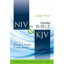 NIV, KJV, Parallel Bible, Large Print, Hardcover: God's Unchanging Word Across the Centuries by Zondervan, 9780310436898