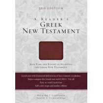 A Reader's Greek New Testament: Third Edition by Richard J. Goodrich, 9780310516804