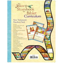 The Jesus Storybook Bible Curriculum Kit Handouts, New Testament by Sally Lloyd-Jones, 9780310688594