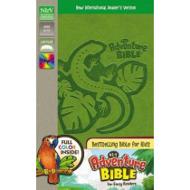 NIrV, Adventure Bible for Early Readers, Leathersoft, Green, Full Color by Lawrence O. Richards, 9780310727453