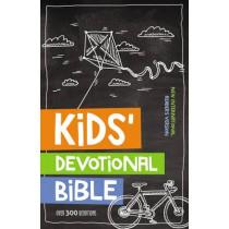 NIrV, Kids' Devotional Bible, Hardcover: Over 300 Devotions, 9780310744450