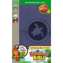 NIrV, Adventure Bible for Early Readers, Leathersoft, Blue/Tan, Full Color by Dr. Lawrence O. Richards, 9780310745297