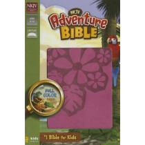 NKJV, Adventure Bible, Imitation Leather, Pink, Full Color by Dr. Lawrence O. Richards, 9780310746515