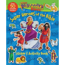 The Beginner's Bible Super Heroes of the Bible Sticker and Activity Book by Kelly Pulley, 9780310747512