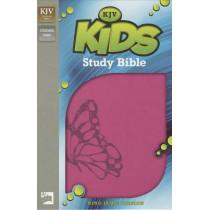 KJV, Kids Study Bible, Imitation Leather, Pink by Dr. Lawrence O. Richards, 9780310747918