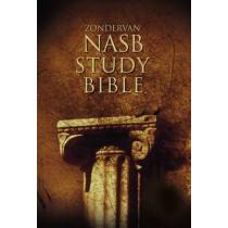 NASB, Zondervan NASB Study Bible, Hardcover, Red Letter Edition by Kenneth L. Barker, 9780310910923