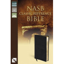 NASB, Classic Reference Bible, Bonded Leather, Black, Red Letter Edition: The Perfect Choice for Word-for-Word Study of the Bible by Zondervan, 9780310931300