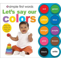 Let's Say Our Colors by Roger Priddy, 9780312506438
