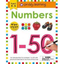 Wipe Clean Workbook: Numbers 1-50 by Roger Priddy, 9780312521912