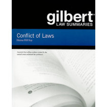 Gilbert Law Summaries on Conflict of Laws by Herma Kay, 9780314143419