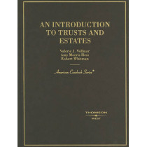 An Introduction to Trusts and Estates by Valerie Vollmar, 9780314211521