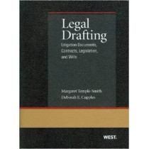 Legal Drafting: Litigation Documents by Margaret Temple-Smith, 9780314267993
