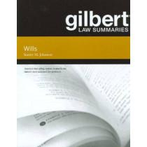 Gilbert Law Summaries on Wills by Stanley Johanson, 9780314268914