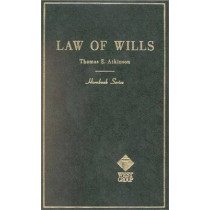 Wills by Academic West, 9780314283337