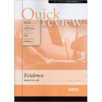 Quick Review of Evidence by Steven Goode, 9780314285942