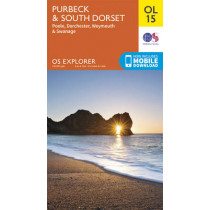 Purbeck & South Dorset, Poole, Dorchester, Weymouth & Swanage by Ordnance Survey, 9780319242544