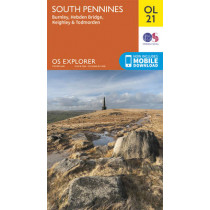 South Pennines, Burnley, Hebden Bridge, Keighley & Todmorden by Ordnance Survey, 9780319242605