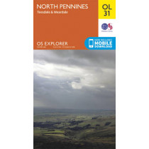 North Pennines - Teesdale & Weardale by Ordnance Survey, 9780319242704