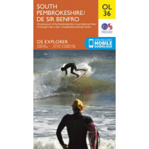 South Pembrokeshire / De Sir Benfro by Ordnance Survey, 9780319242759