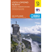 Loch Lomond North, Tyndrum, Crianlarich & Arrochar by Ordnance Survey, 9780319242780
