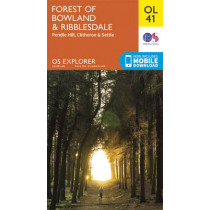 Forest of Bowland & Ribblesdale, Pendle Hill, Clitheroe & Settle by Ordnance Survey, 9780319242803