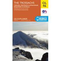 The Trossachs, Callander, Aberfoyle & Lochearnhead, Balquhidder & Strathyre by Ordnance Survey, 9780319242858