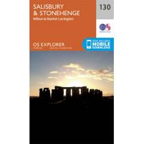 Salisbury and Stonehenge by Ordnance Survey, 9780319243268