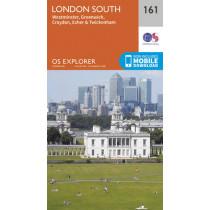 London South, Westminster, Greenwich, Croydon, Esher & Twickenham by Ordnance Survey, 9780319243541
