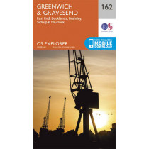 Greenwich and Gravesend by Ordnance Survey, 9780319243558