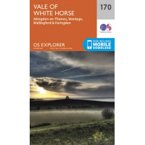 Abingdon, Wantage and Vale of White Horse by Ordnance Survey, 9780319243633