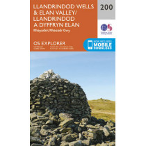 Llandrindod Wells and Elan Valley, Rhayader by Ordnance Survey, 9780319243930