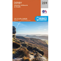 Derby, Uttoxeter, Ashbourne and Cheadle by Ordnance Survey, 9780319244562
