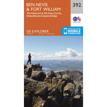 Ben Nevis and Fort William, the Mamores and the Grey Corries, Kinlochleven and Spean Bridge by Ordnance Survey, 9780319246351
