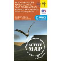 Brecon Beacons National Park / Parc Cenedlaethol Bannau Brycheiniog - Western Area / Ardal Gorllewinol by Ordnance Survey, 9780319469309