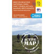 Brecon Beacons National Park / Parc Cenedlaethol Bannau Brycheiniog - Eastern Area / Ardal Ddwyreiniol by Ordnance Survey, 9780319469316