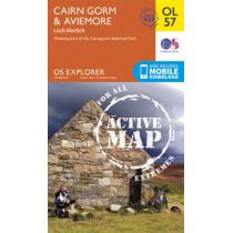 Cairn Gorm & Aviemore, Loch Morlich by Ordnance Survey, 9780319469750