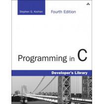 Programming in C by Stephen G. Kochan, 9780321776419