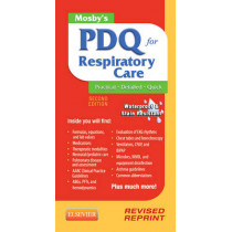 Mosby's PDQ for Respiratory Care - Revised Reprint by Helen Schaar Corning, 9780323100724