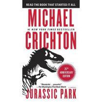 Jurassic Park by Michael Crichton, 9780345538987