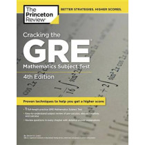 Cracking The Gre Mathematics Subject Test, 4Th Edition by Princeton Review, 9780375429729