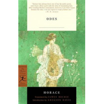 Mod Lib Odes By Horace by Horace, 9780375759024