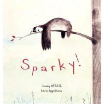 Sparky! by Jenny Offill, 9780375870231