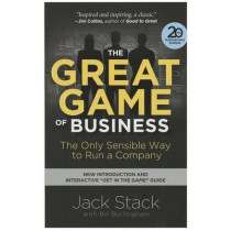 The Great Game of Business: The Only Sensible Way to Run a Company by Jack Stack, 9780385348331