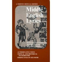 Middle English Lyrics by Richard L. Hoffman, 9780393093384